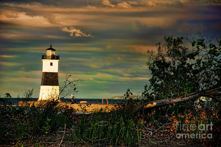 Lighthouse Photograph - The Lighthouse by Gaby Swanson