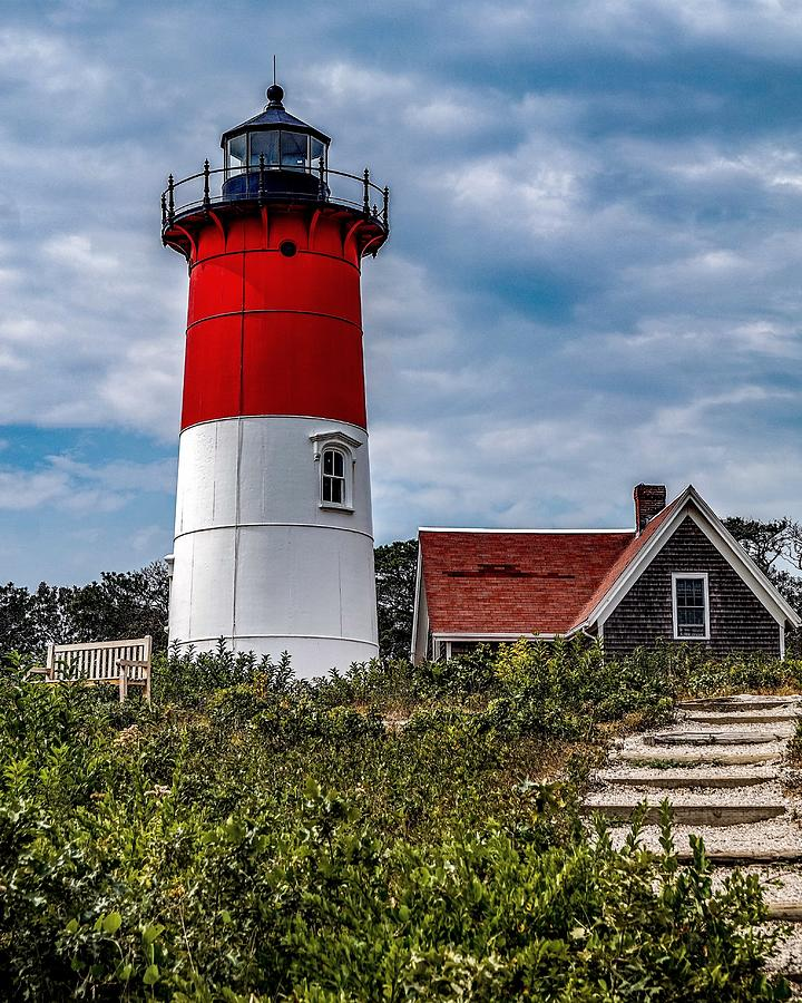 The Lighthouse Photograph by Kendall McKernon