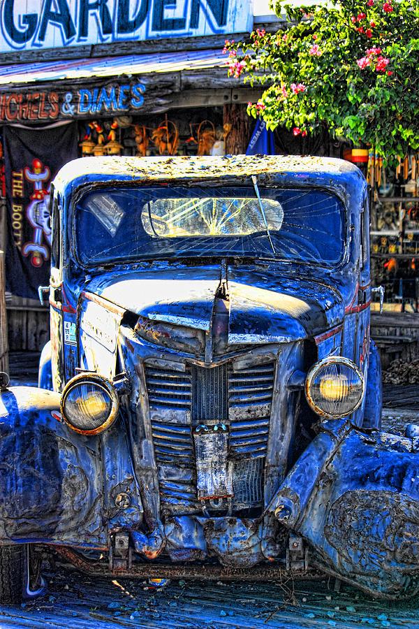 Trucks Photograph - The Lights Work by Joetta West