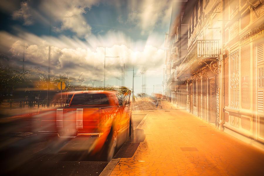 Car Photograph - The Lightspeed by Radek Spanninger