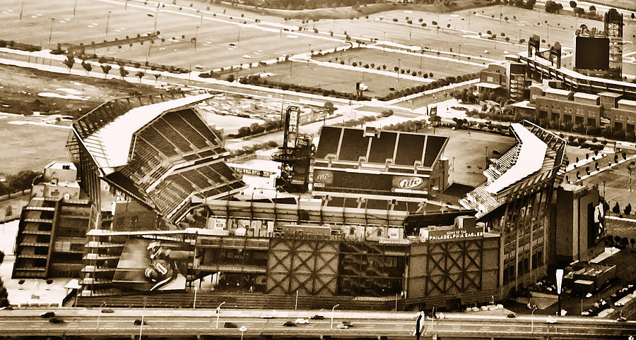 Sport Photograph - The Linc - Aerial View by Bill Cannon