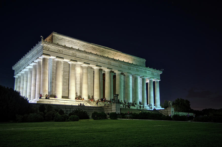 The Lincoln Memorial At Night by Greg Mimbs