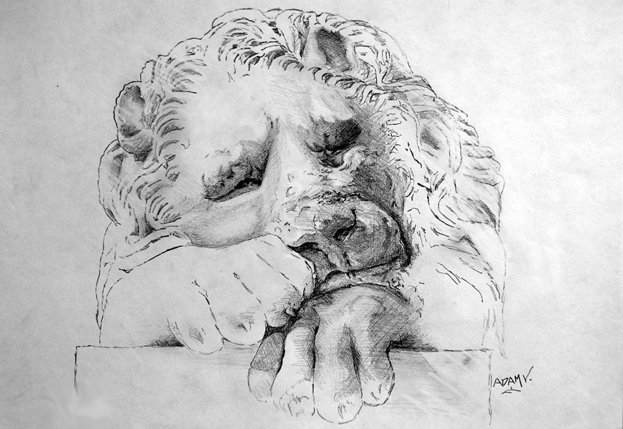 The Lion Drawing