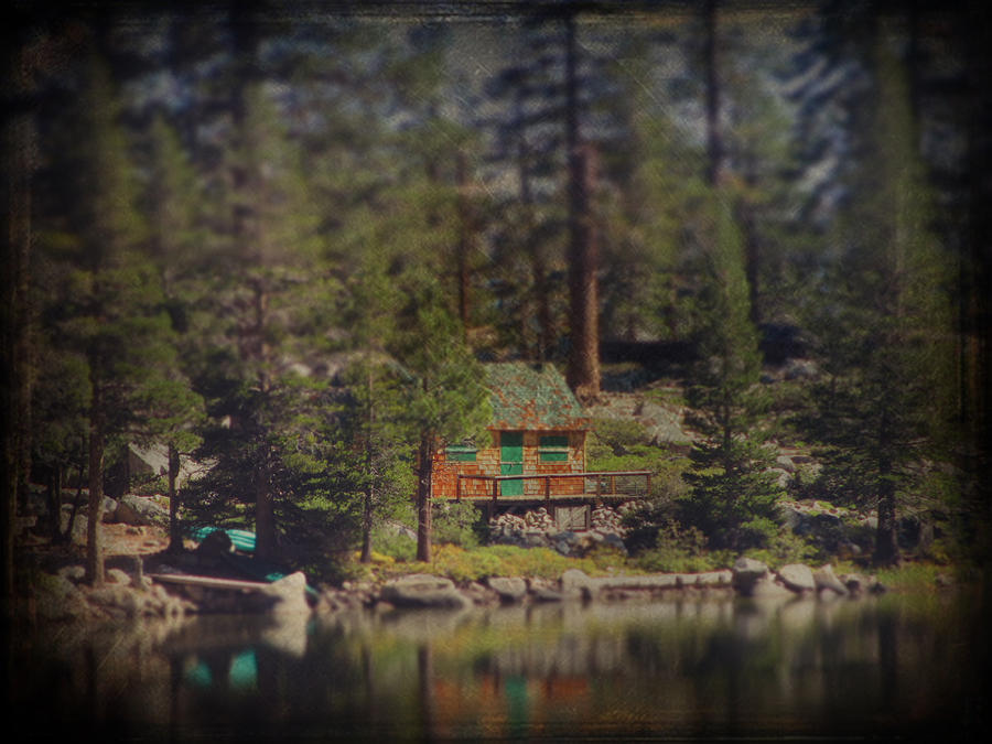 Cabin Photograph - The Little Cabin by Laurie Search