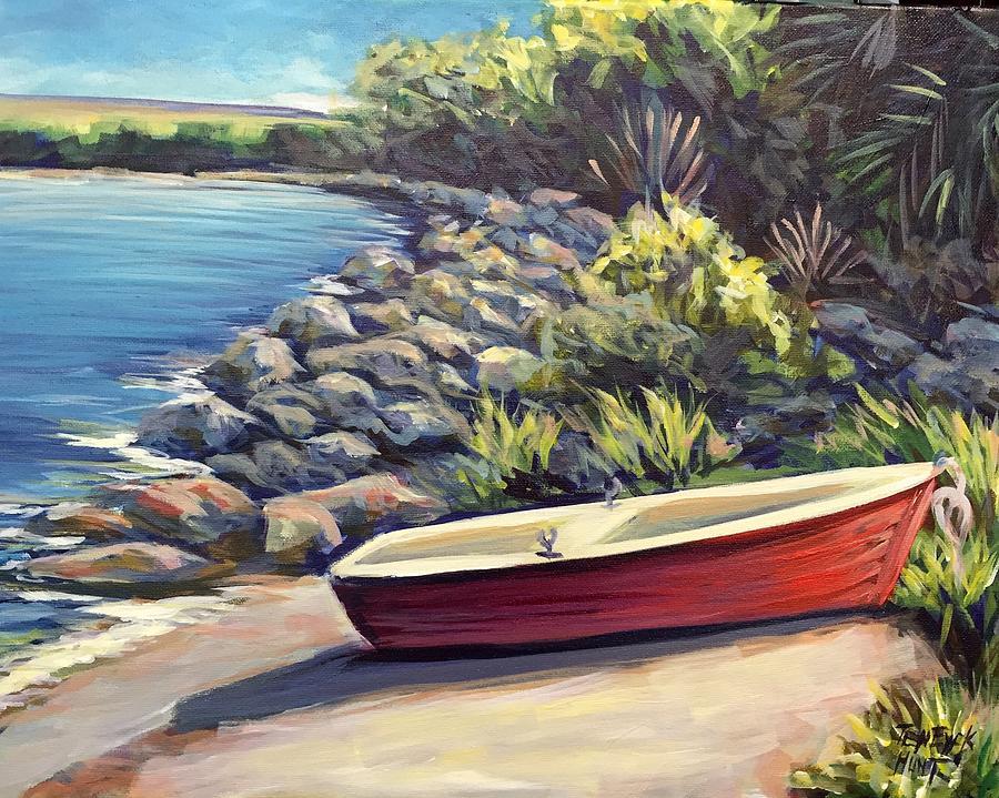 The Little Red Boat  by Gretchen Ten Eyck Hunt