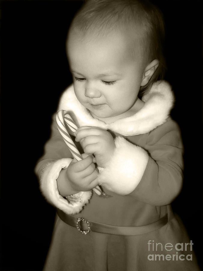 Elf Photograph - The Littlest Elf by Laura Brightwood