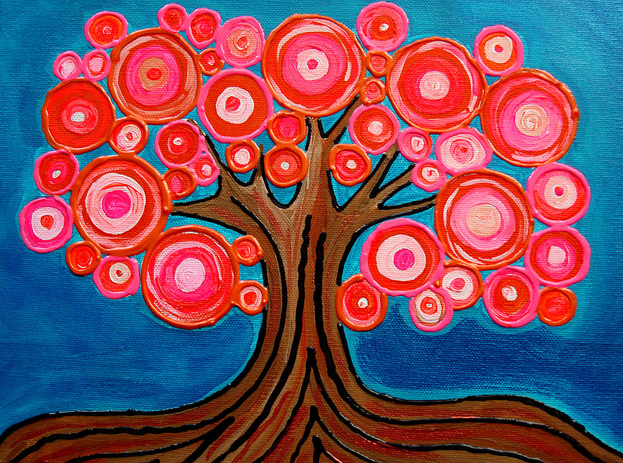 The Lollipop Tree Painting by Pamela Cisneros