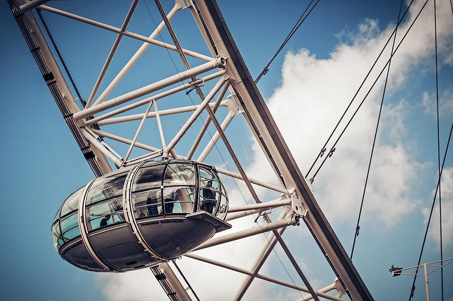 London Photograph - The London Eye by Alexander Voss