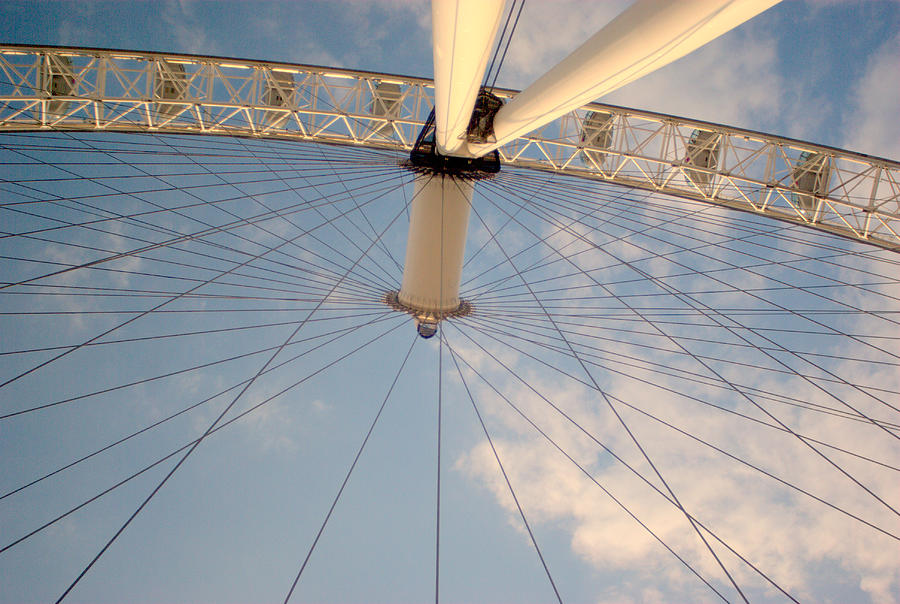 The London Eye Photograph by Iain MacVinish