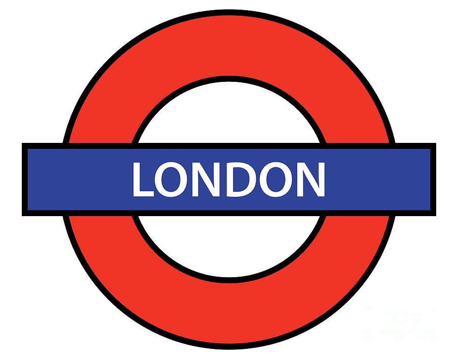 London Digital Art - The London Underground by Bigalbaloo Stock
