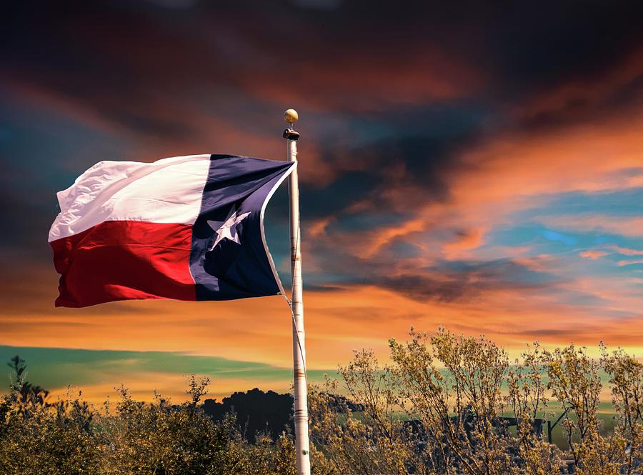 The Lone Star Flag by Gaylon Yancy