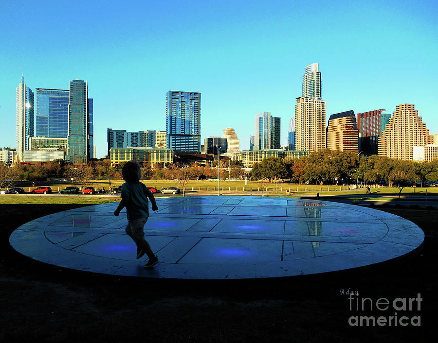 The long center austin skyline from city terrace for Terrace 59 austin