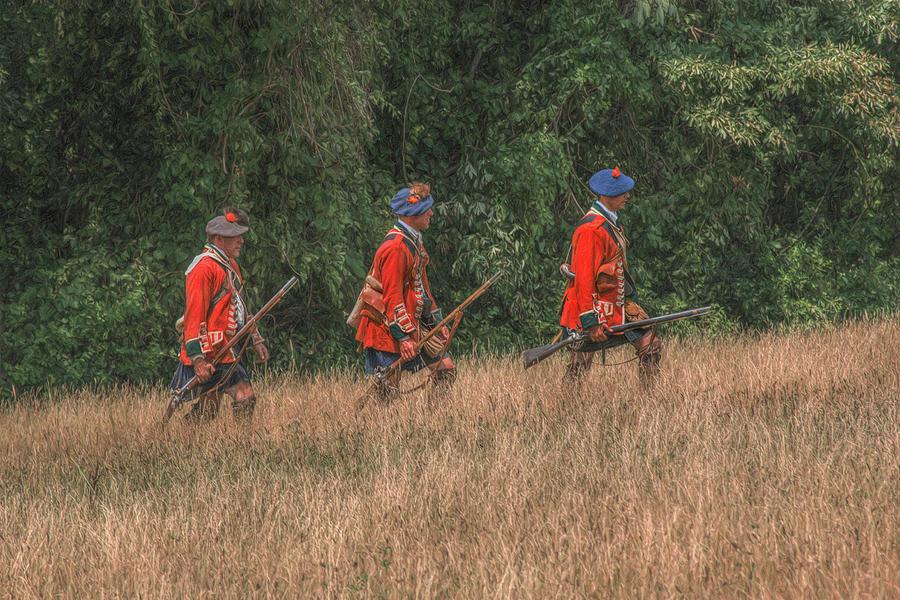 War Digital Art - The Long March To Fort Pitt  by Randy Steele