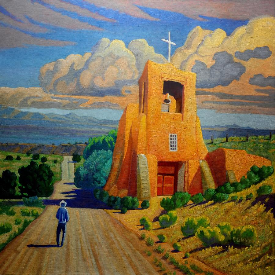 The Long Road to Santa Fe by Art West