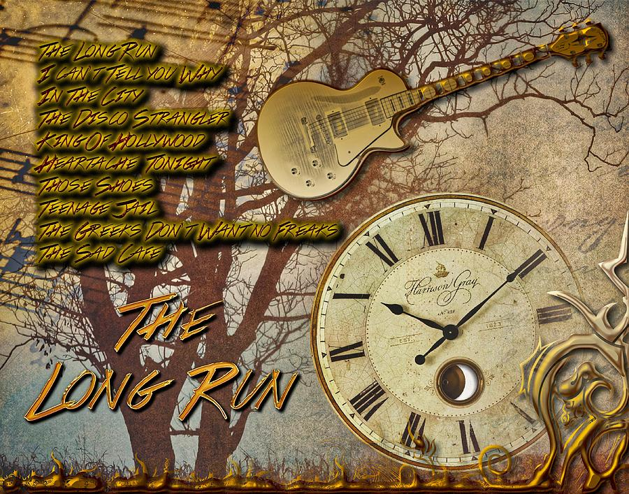 The Long Run Digital Art - The Long Run by Michael Damiani