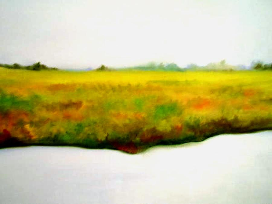 Geese Painting - The Long Way Home by Lord Frederick Lyle Morris - Disabled Veteran