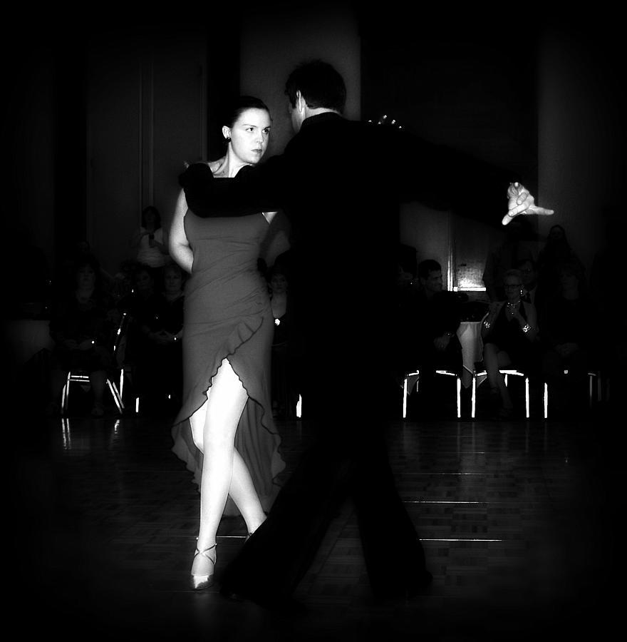 Dance Photograph - The Look by Lori Seaman