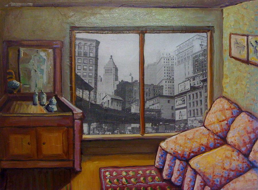 Interior Painting - The Loop by Kathy Halper