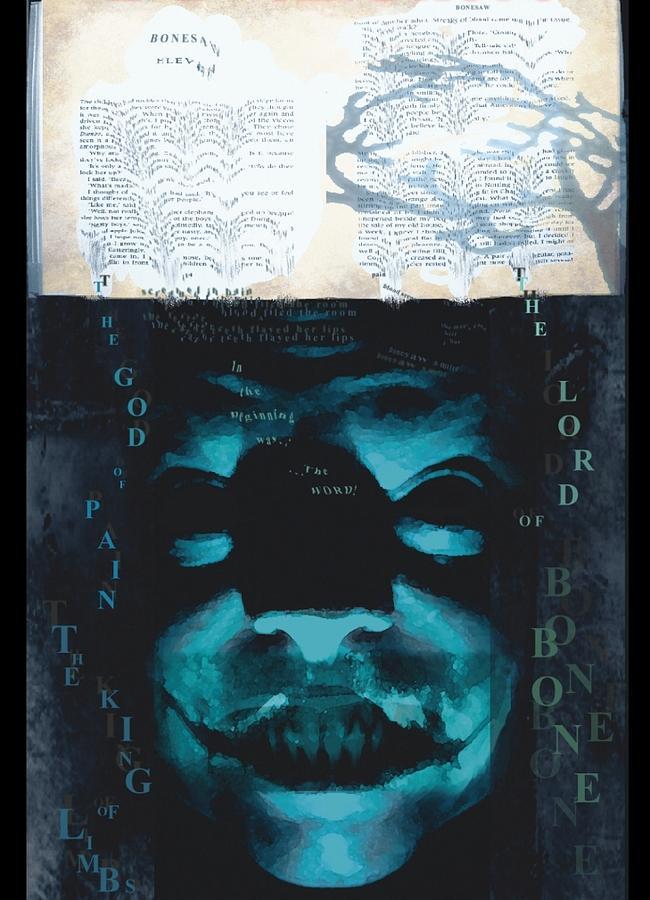 Scary Digital Art - The Lord Of Bone by Rob Moran
