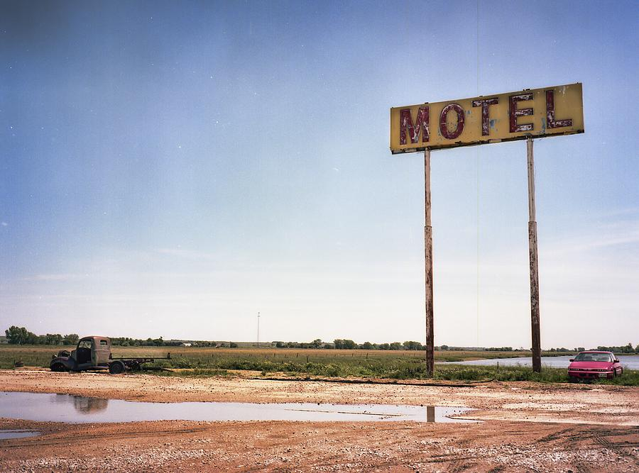 The Lost Motel Photograph by HW Kateley