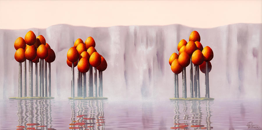 Architecture Painting - The Lost Ones by Patricia Van Lubeck