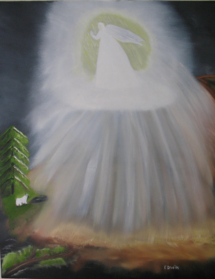 Angels Painting - The Lost Sheep by Edwin Long