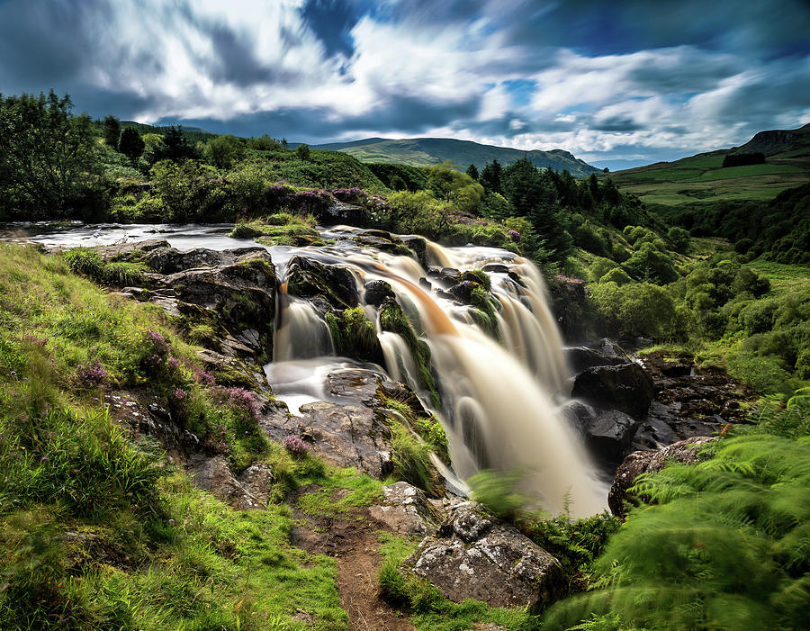 Waterfall Photograph - The Loup Of Fintry by Willie Coutts