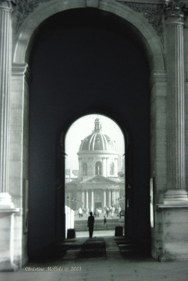 Paris Photograph - The Louve 2 by Christine McCole