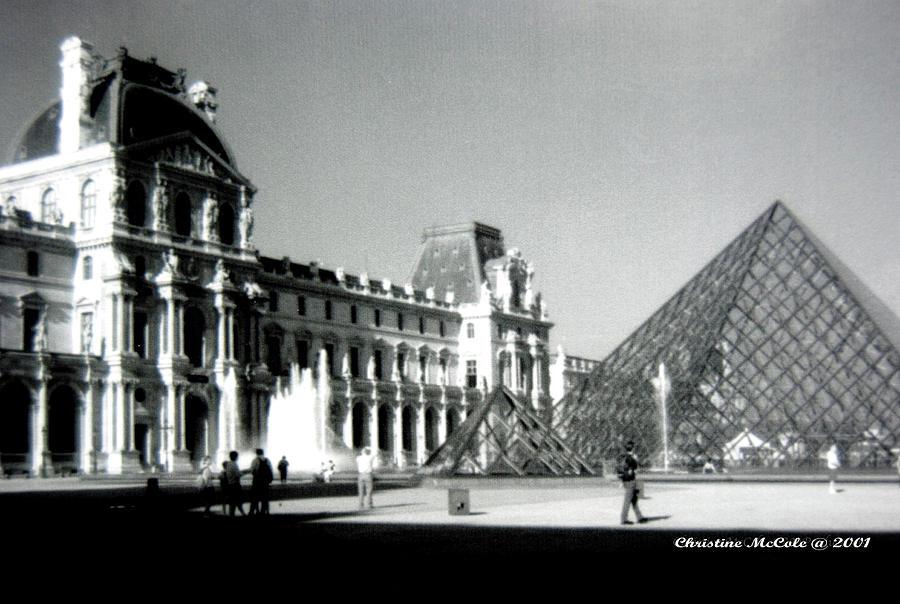Paris Photograph - The Louve 3 by Christine McCole