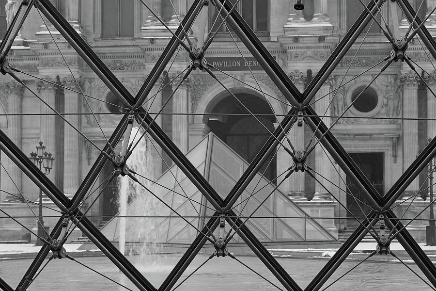 The Louvre from the inside by Samantha Delory