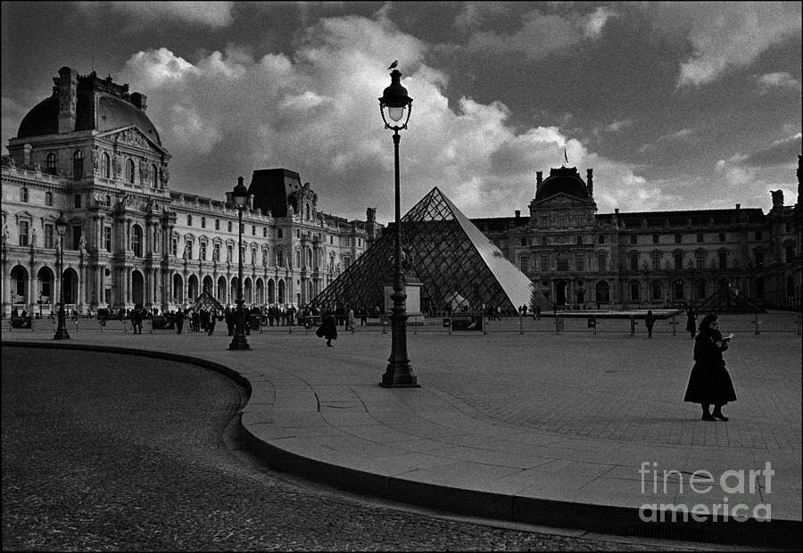 Musee Du Louvre Photograph - The Louvre Museum by Aldo Cervato