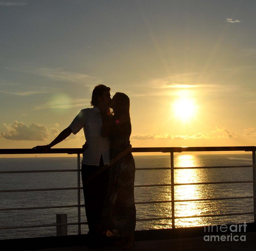 Couple Photograph - The Love Boat by Amanda  Sanford