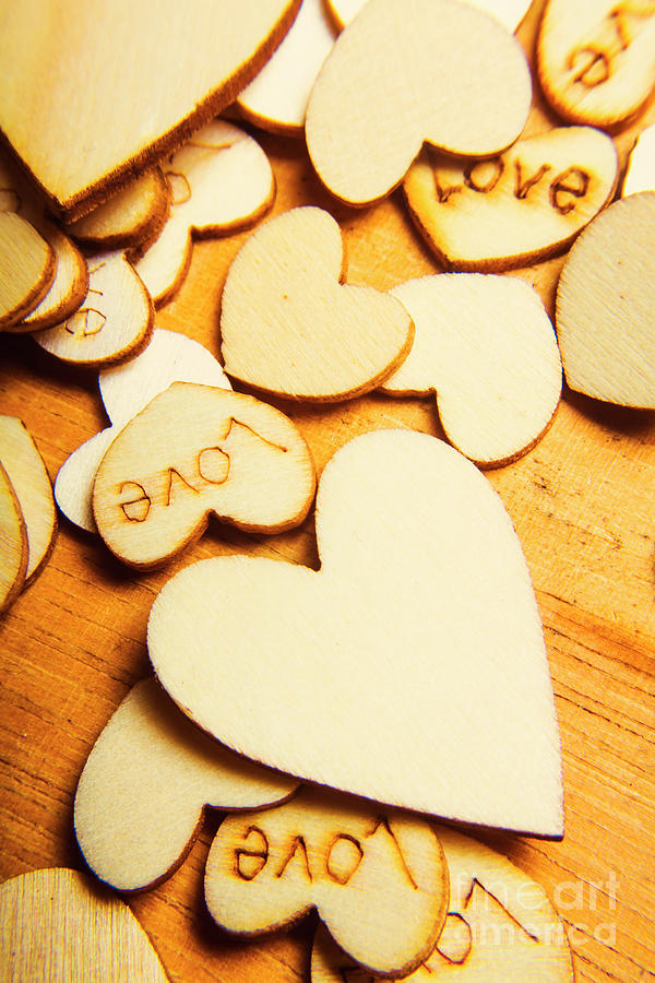 The Love Heart Scatter Photograph by Jorgo Photography - Wall Art ...