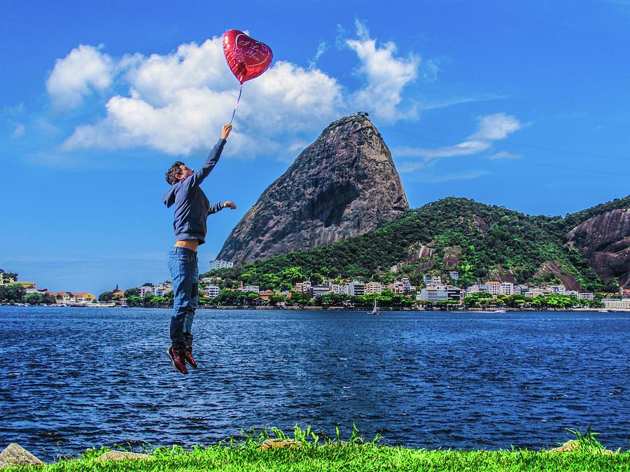 Love Photograph - The Love in the Air by Cesar Vieira