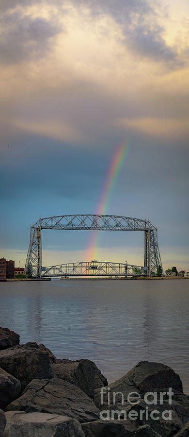 Vertical Photograph - The Lovers, The Dreamers and Duluth by Ever-Curious Photography