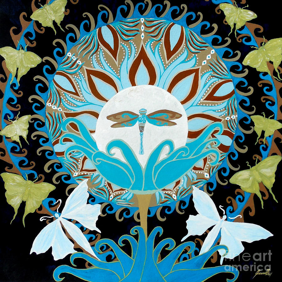 The Luna Moth Journey of Faith and Love by Jean Fry