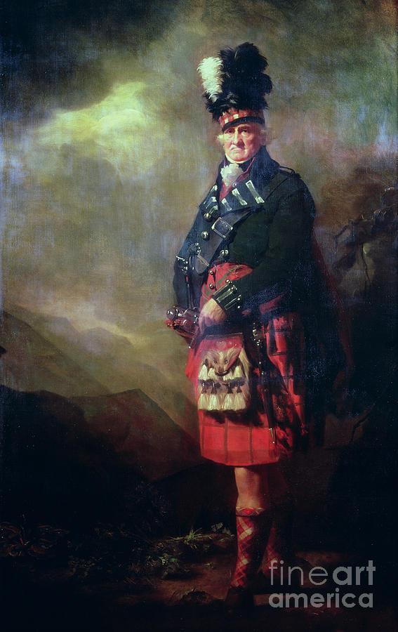 Kilt Painting - The Macnab by Sir Henry Raeburn