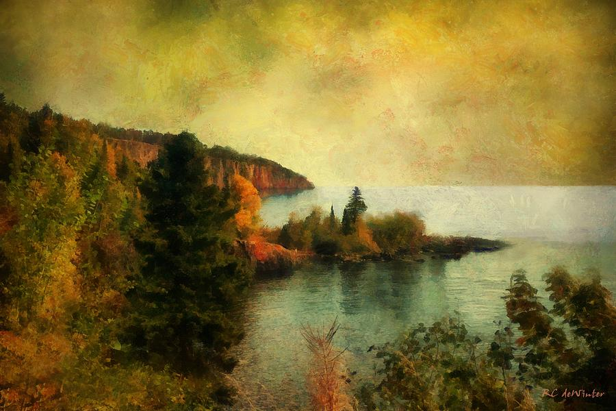 Landscape Painting - The Magic Hour by RC DeWinter