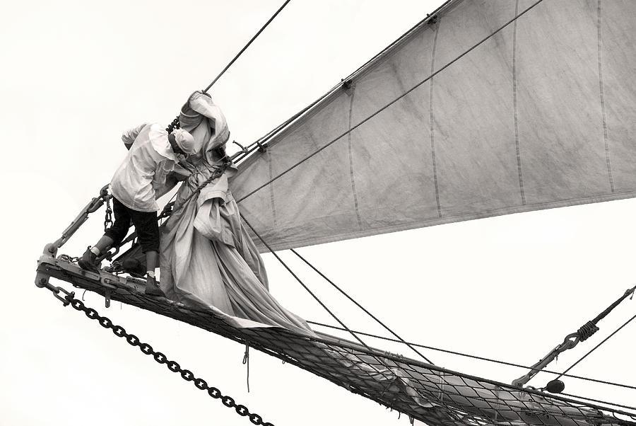 Sail Photograph - The Magic Of Sail by Robert Lacy