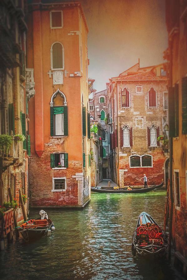 Venice Photograph - The Magic Of Venice Italy  by Carol Japp
