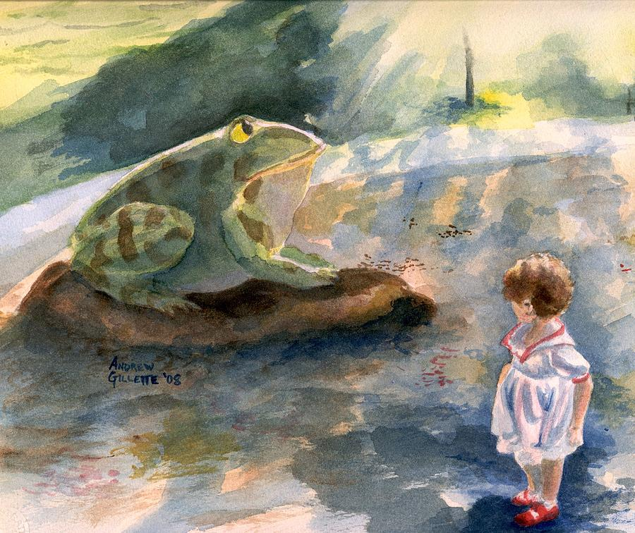 The Magical Giant Frog by Andrew Gillette