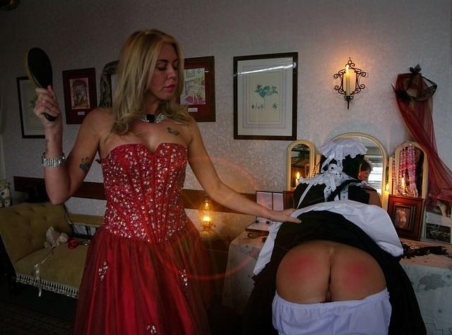 The maid is punished. by Asa Jones