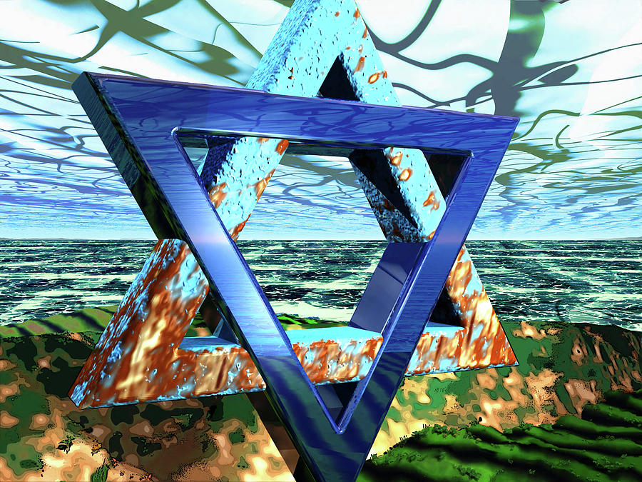 Jewish Digital Art - The Making Of Meaning by Steve Kobb