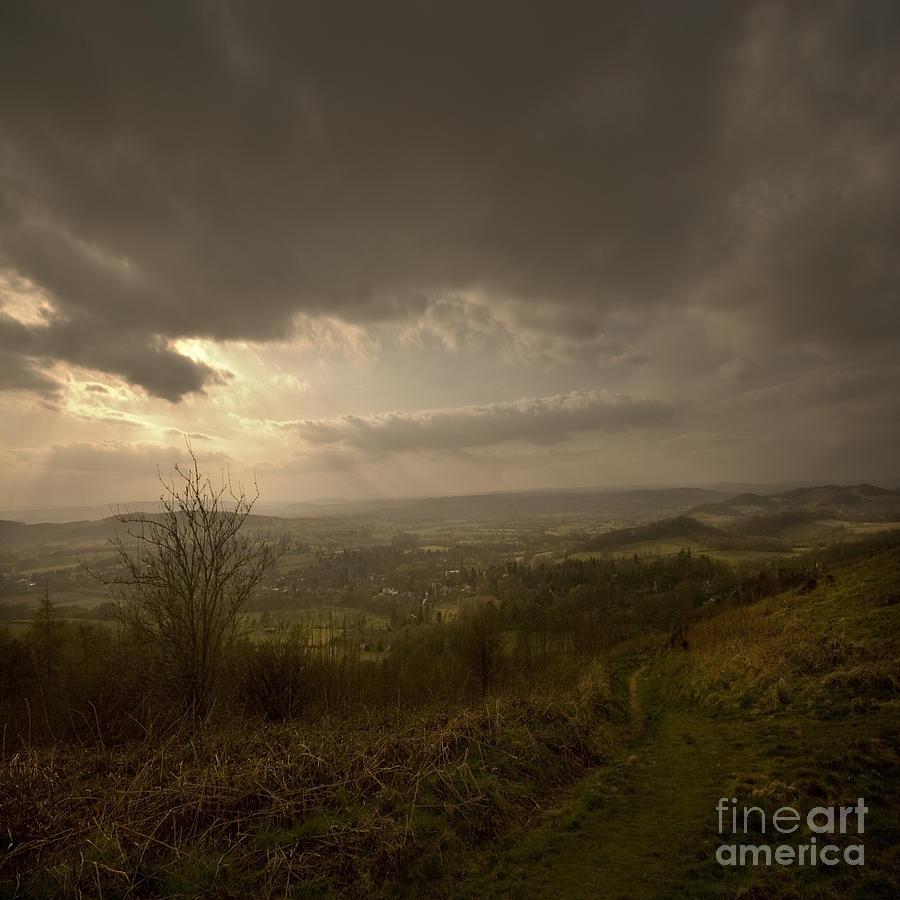 Malvern Photograph - The Malvern Hills by Angel Ciesniarska