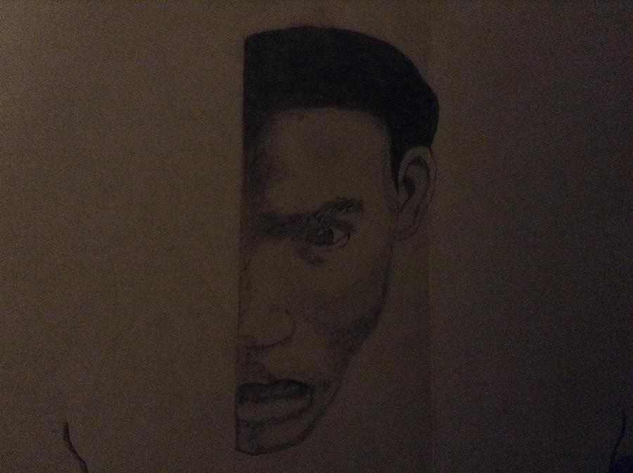 The Man Drawing by Bralen tolliver