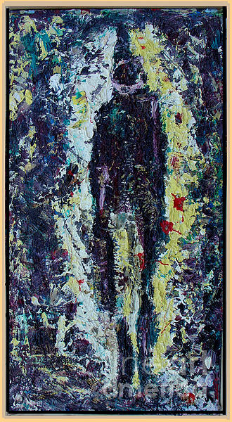 Abstract Painting - The Man In Me     By Cdn Emerg Bsellers Painter Yan D.soloh by Yan  D-SOLOH