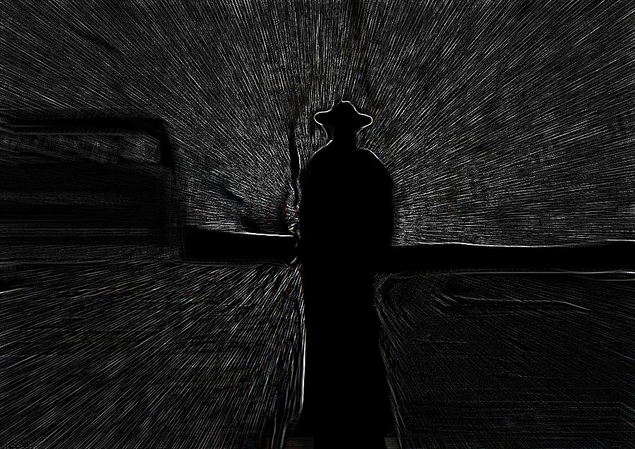 The Man Of The Station Digital Art by Marcelo Macedo Flores Macedo