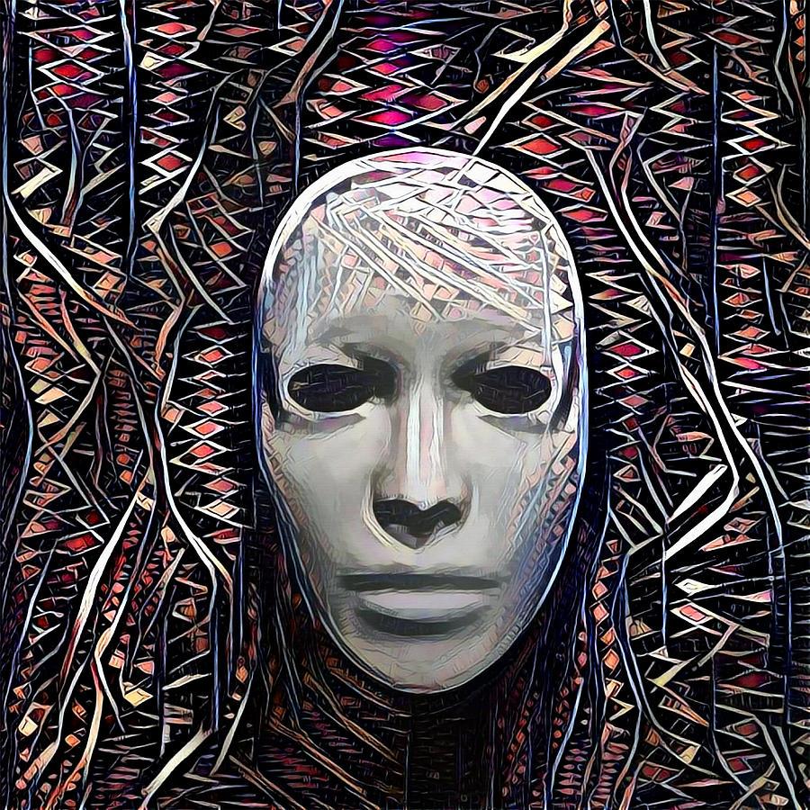 The Mask Digital Art