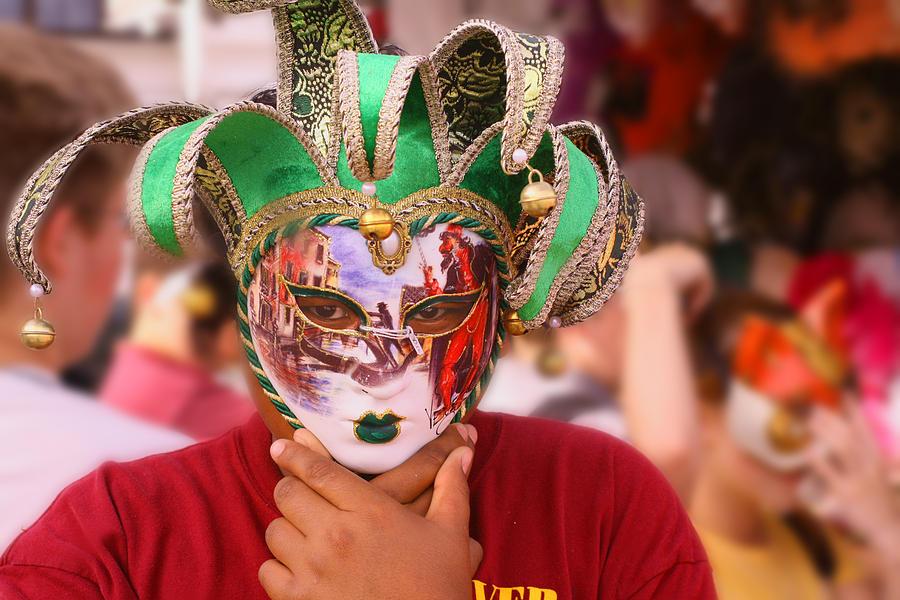 Photograph Photograph - The Mask by Greg Sharpe