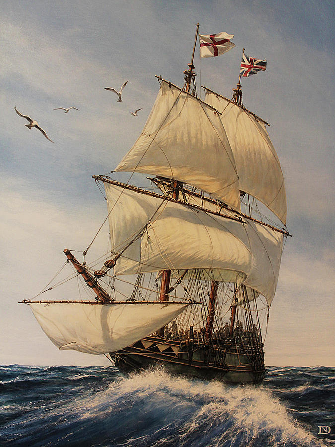 The Mayflower Painting